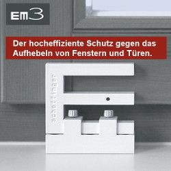 fenstersicherung mechanischer einbruchschutz f r fenster terrassent r. Black Bedroom Furniture Sets. Home Design Ideas