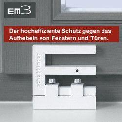 Einbruchschutz-Fensterriegel EM3